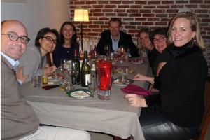 Cenas particulares como en su propia casa: Retour de campagne / campaign return